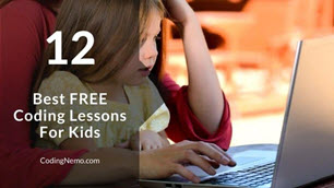 12 Best Free Coding Lessons For Kids Feature image