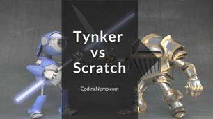 Tynker vs Scratch - Feature image