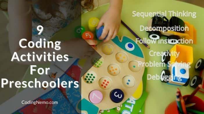 Coding Activities For Preschoolers
