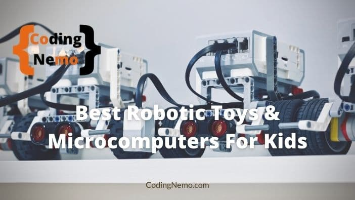 Best robotic toys and microcomputers for kids