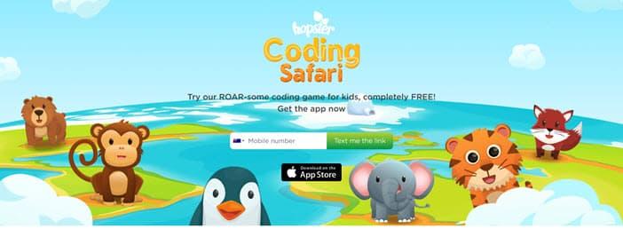 Hopster Coding Safari