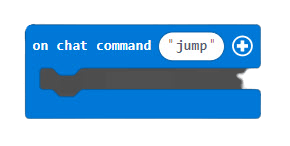 On chat command block