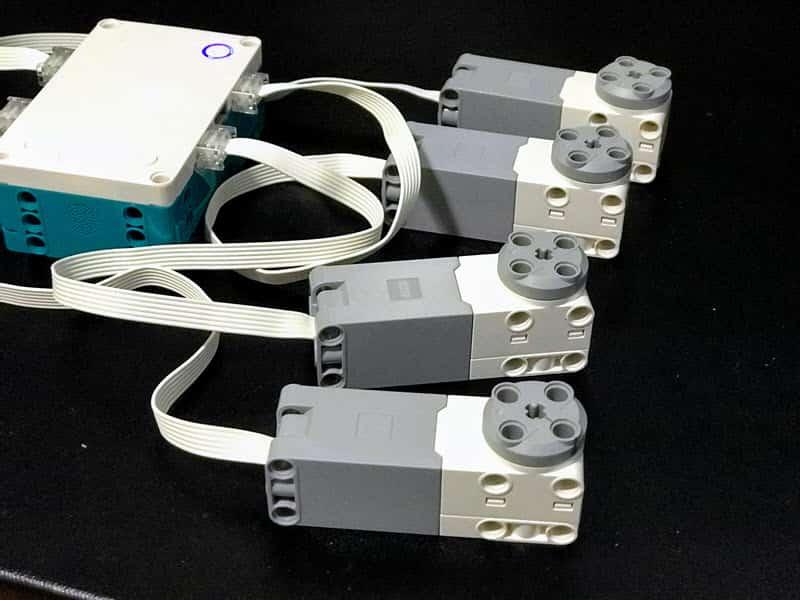 Mindstorms precision motors