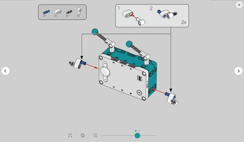 LEGO Mindstorms Robot Inventor building instruction