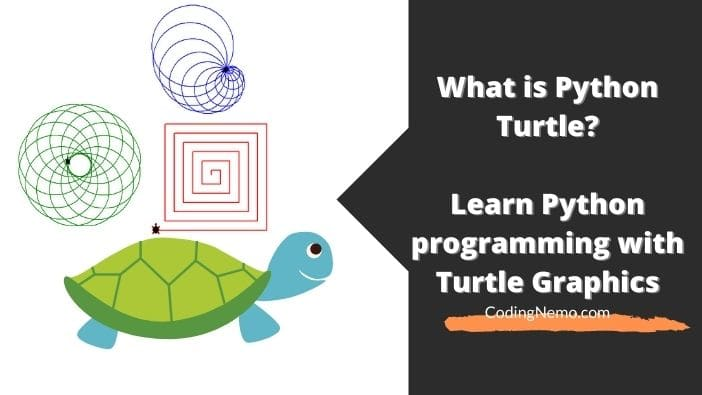 What is Python Turtle? Learn Python coding with Turtle Graphics